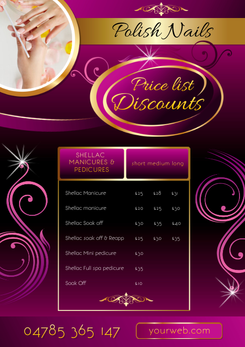 small business flyer template postermywall