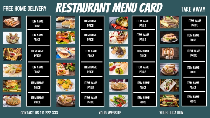 SMALL BUSINESS FLYERS Digital Display (16:9) template