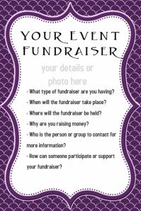 Small Business Fundraiser Dinner Reception Dance Invitation  Fundraiser Invitation Templates