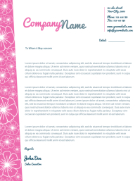 small business letterhead templates