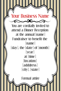 Small Business Retail Event Flyer Invitation Announcement
