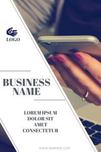 small business retail flyer template