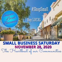 Small Business Saturday Video Instagram na Post template