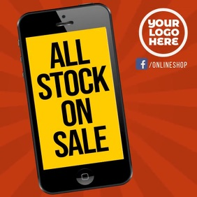 Smartphone all stock on sale instagram video