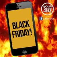 Smartphone black friday instagram ad video