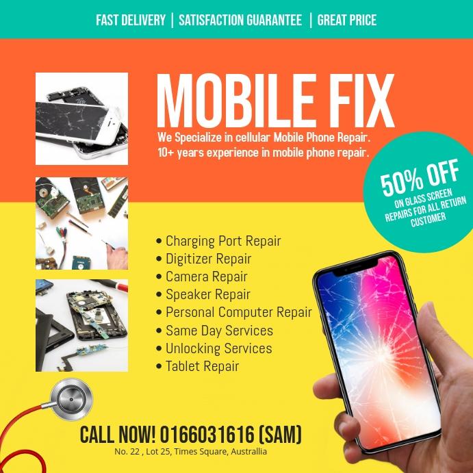 Smartphone Repair instagram post