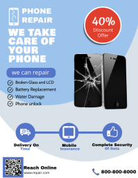Smartphone Repair Shop Poster