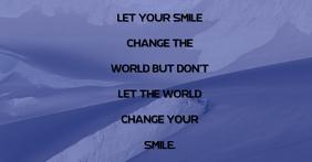 SMILE TEMPLATE Facebook-Anzeige