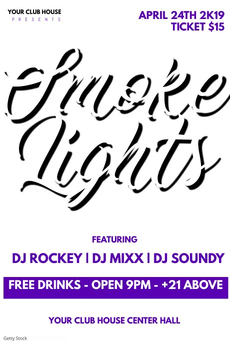 smoke n lights party