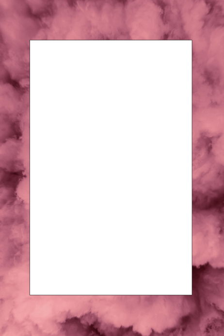 Smoke Party Prop Frame