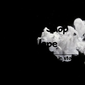 Smoke Retail Video 方形(1:1) template
