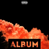 Smoke Slow Motion album cover video template