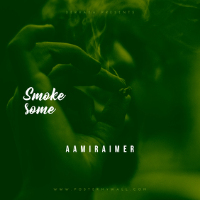 Smoke Some CD Cover Template