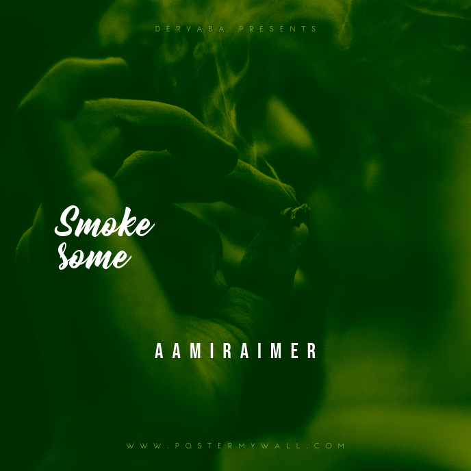 Smoke Some CD Cover Template