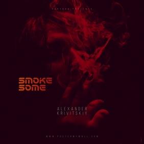 Smoke Some CD Cover Template Ikhava ye-Albhamu