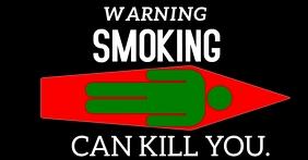 SMOKING CAN KILL YOU TEMPLATE Iklan Facebook