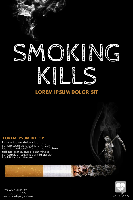 Smoking Flyer Template Free Postermywall