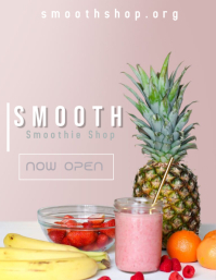 Smoothie 2 Ulotka (US Letter) template