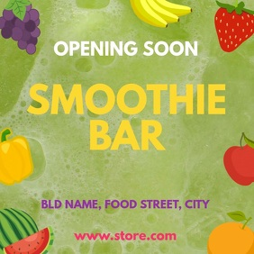 Smoothie bar opening
