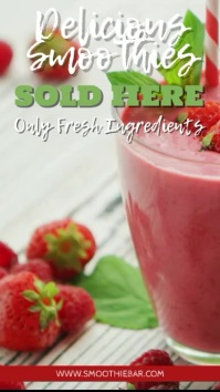 Smoothie Juice Bar Video Promotion Template