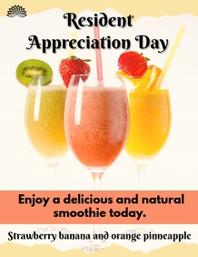 Smoothies Flyer