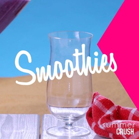 Smoothies Instagram Video Templates