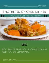 Smothered Chicken Dinner