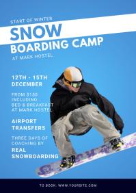 Snow Boarding Camp Magazine Ad