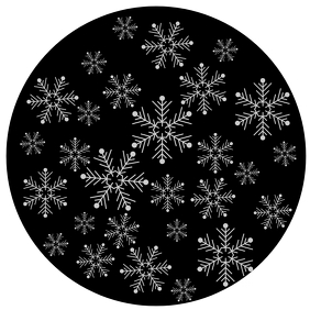 SNOW GOBO PROJECTION