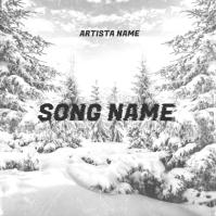 snow rap music album cover template Albumcover