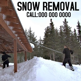 SNOW REMOVAL AD SOCIAL MEDIA
