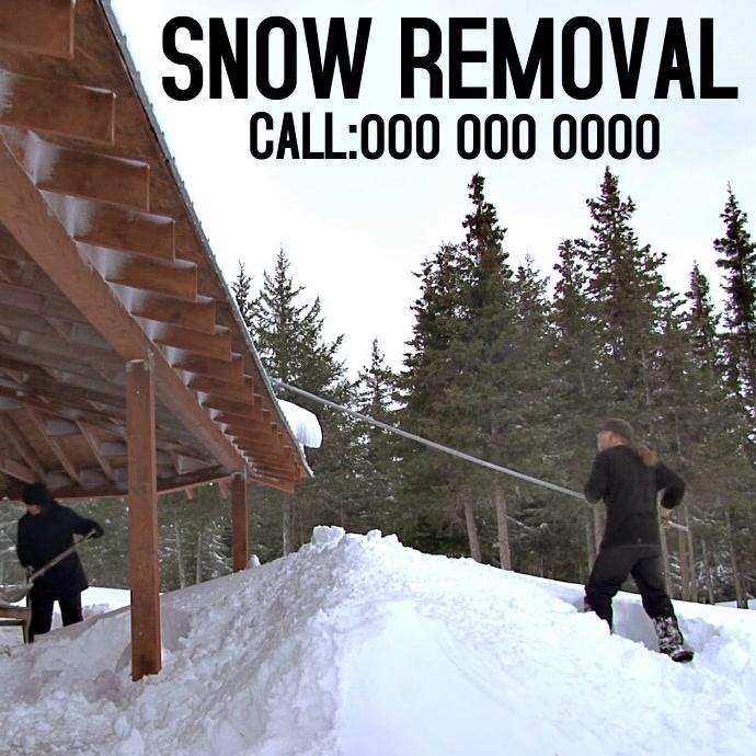 SNOW REMOVAL AD SOCIAL MEDIA
