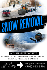 Snow Removal Services Flyer