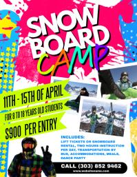 Snowboard Camp Flyer