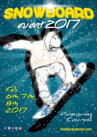 Snowboard Flyer