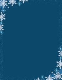 Snowflake Boarder