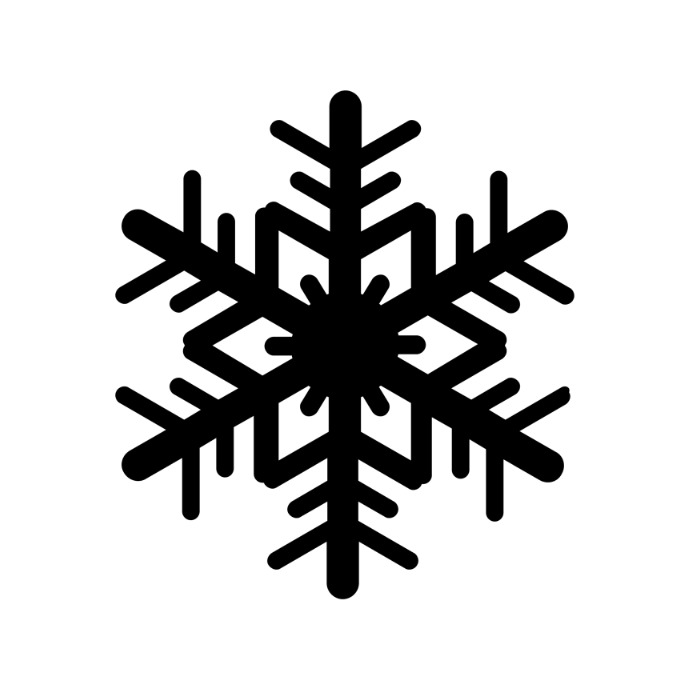Snowflake icon 徽标 template