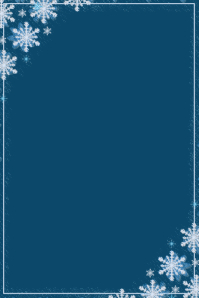 Snowflake Poster Template