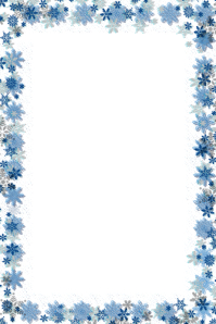 Snowflake Template Poster