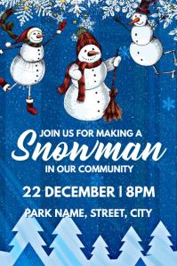 Snowman making