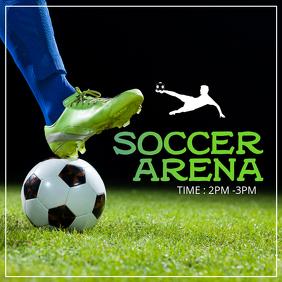 Soccer arene
