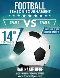 Soccer Bar Flyer