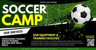 Soccer Camp Obraz udostępniany na Facebooku template