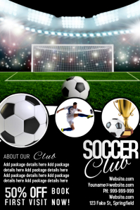 Soccer Club Poster