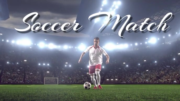 soccer Pantalla Digital (16:9) template