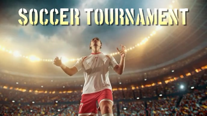 soccer Pantalla Digital (16:9) template