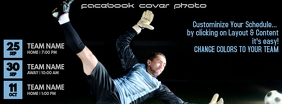 Soccer Facebook Cover Photo template