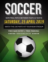 Soccer Flyer,Soccer Game Flyer, Soccer Match, Soccer Camp