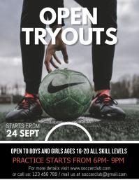 Soccer Flyer,Soccer Game Flyer, Soccer match