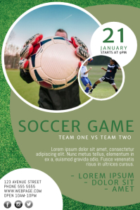 Soccer Flyer Template Great Ideas